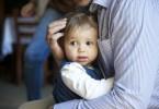 Baby toddler hug